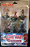 Marvel HeroClix: Captain America: Civil War Movie 6-Figure Starter Set WZK 72274