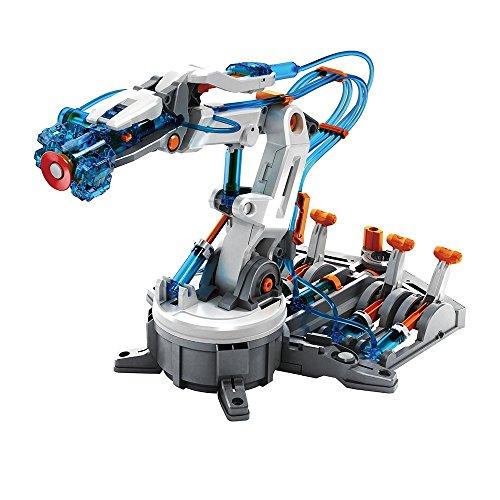 Juguetrónica Hydraulic Arm, Brazo robótico hidráulico para Construir (JUG0262)