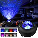 LBell Night Light Projector 3 in 1 Galaxy Projector Star Projector w/LED Nebula Cloud for Baby Kids Bedroom/Game...