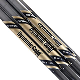 New Dynamic Gold Tour Issue Steel Iron Shaft Set 3-PW X100