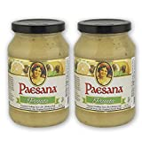 Paesana Piccata Gourmet Cooking Sauce Made with White Wine great on Chicken, Veal, Fish, Kosher...