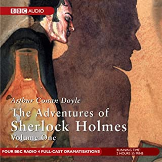 The Adventures of Sherlock Holmes, Volume 1 [Dramatised] cover art