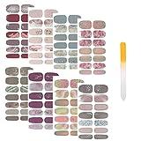 SIUSIO 112pcs 8 Sheets Full Nail...