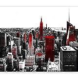 murando Fotomurales Nueva York New york NY 400x280 cm XXL Papel pintado tejido no tejido Decoración de Pared decorativos Murales moderna de Diseno Fotográfico Ciudad Moderno Paisaje 10110904-61