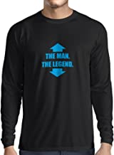 lepni.me Long Sleeve t Shirt Men The Man and The Legend
