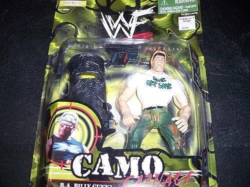 World Wrestling Federation Camo Blautbad A Billy Gunn by Jakks Pacific