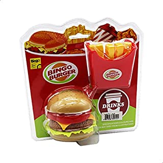 Bingo HK-9914 Burger and Fries Toy - Multi Color