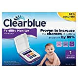 Clearblue Fertility Monitor - Advanced, Tests for Ovulation & Pregnancy, Proven to Increase the Chances of...