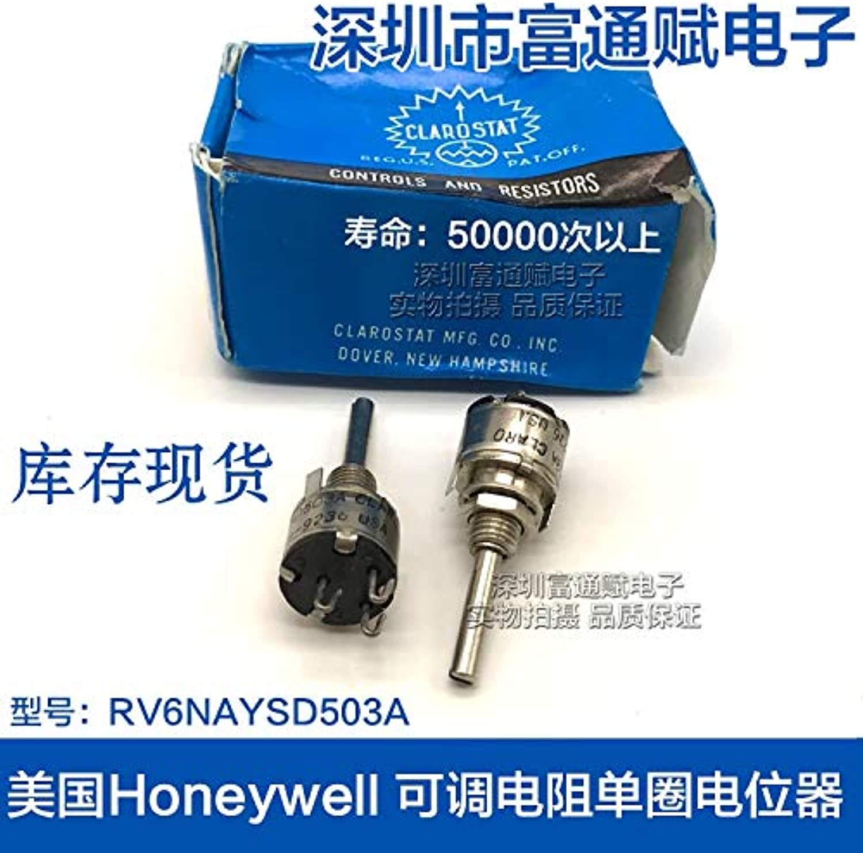 Import Adjustable Resistance RV6NAYSD503A50K Conductive Plastic Single Ring Potentiometer