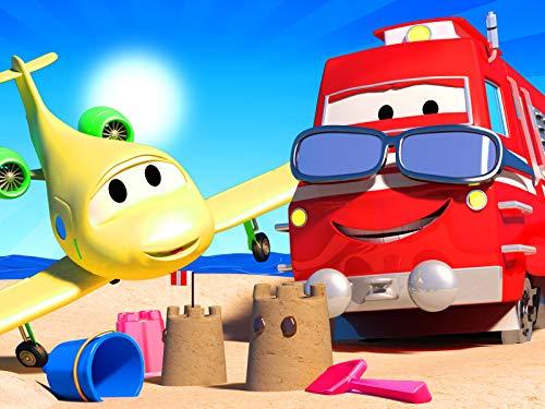 Die Hitzewelle ! / Suzy die kleine rosa Prinzessin / Troy der Zug hilft Autos dabei ein Feuer fürs Grillen zu machen / Chuck das Hebebühnenfahrzeug