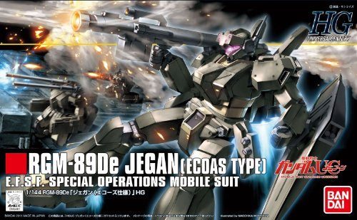 Bandai Hobby #123 Jegan ECOAS Type, Bandai HGUC Action Figure