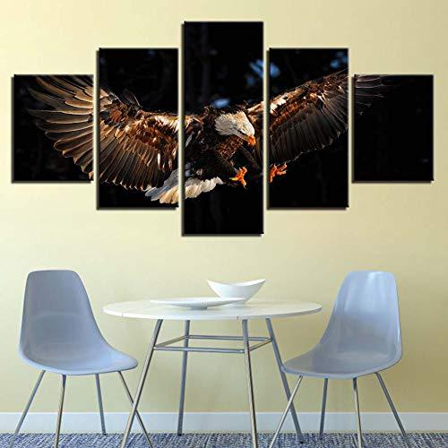 YXWLKG 5 lienzoss Decoración Moderna Sala de Estar Pared 5