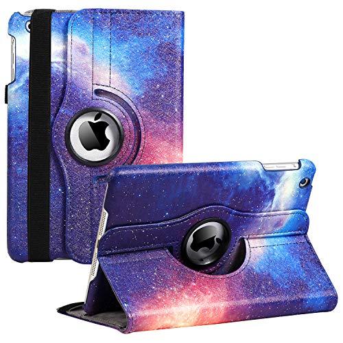iPad Mini 1/2/3 Case - 7.9 in 360 Degree Rotating Stand Case Cover with Auto Sleep/Wake Feature for iPad Mini 1/iPad Mini 2/iPad Mini 3 (Galaxy)