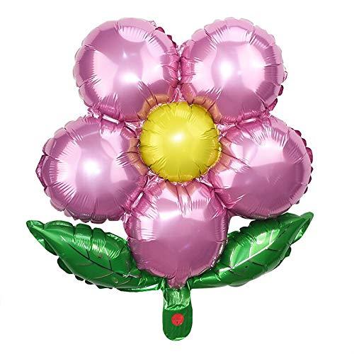 5pcs 18inch Lovely Wedding Balloons Flowers Star Aluminum Foil Balloon Gifts Children Birthday Party Decor Toys Helium Globos