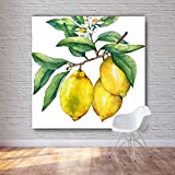 PLjVU HD Fructose Oil Painting Gedruckt auf Leinwand Küche