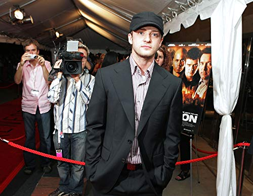 Posterazzi Poster Print Justin Timberlake at Arrivals for Edison Premiere Film Festival Roy Thompson Hall Toronto On September 17 2005. Photo by Malcolm TaylorEverett Collection Celebrity (10 x 8)