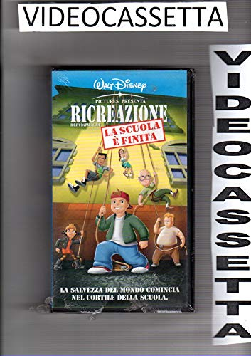 RICREAZIONE ideato da Paul & Joe - LA SCUOLA E' FINITA - VHS - WALT DISNEY