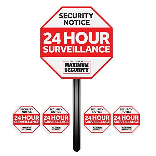 surveillance signs
