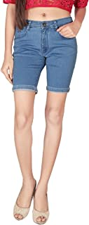 Focus Women's Silky Stertchable Denim Pedal Fit