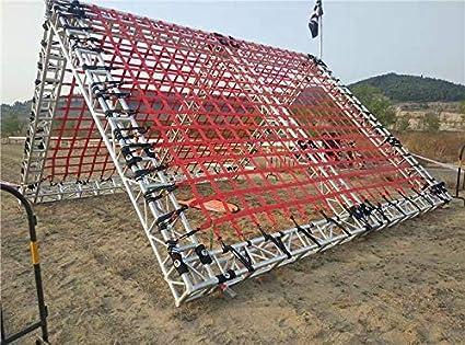 Red de red de escalada al aire libre XHP para niños y adultos, red de carga resistente para redes de escalada de cuerda suave, red de escalada para ...