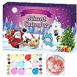 Vintagen 24pcs / Set Calendario de Adviento 2020 Cuenta Regresiva para Navidad para niños y Adolescentes