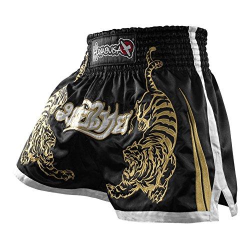 Hayabusa Muay Thai Shorts, Black, 32