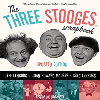 The Three Stooges Scrapbook audiobook cover art