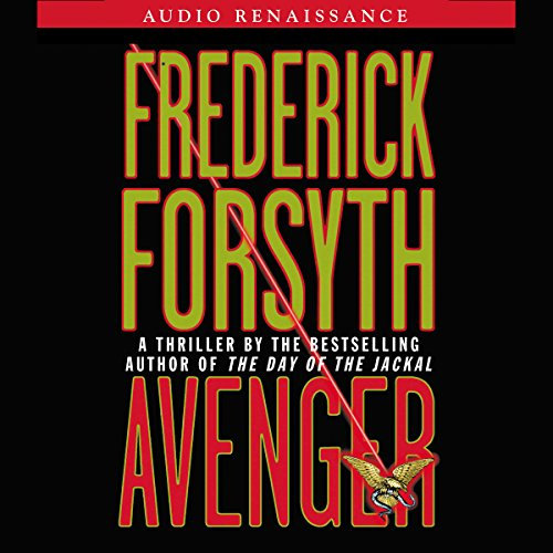 Avenger audiobook cover art