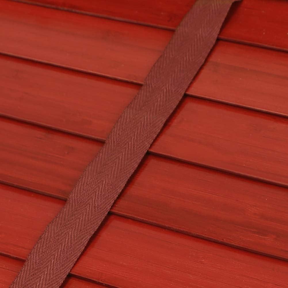 Size : 60/×135 cm 23.6/×53.1 Store Enrouleur Stores v/énitiens en bois /à effet de grain en bois//bureau /à domicile Ajustement parfait accessoires de montage inclus