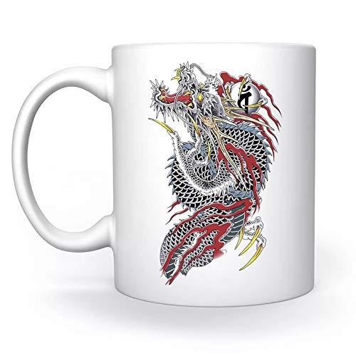 Yakuza Biance Tazza White Mug Cup