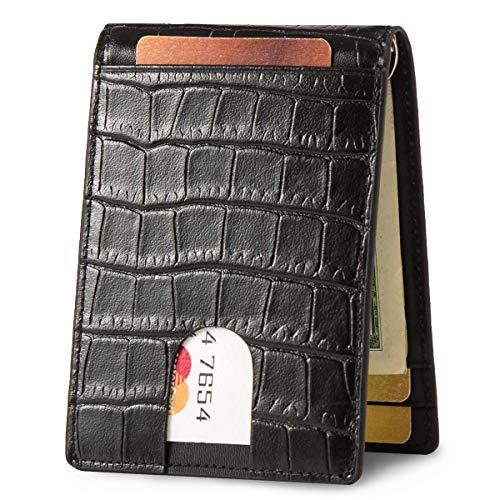 Lethnic Slim Money Clip Wallet