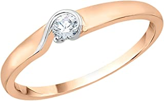 KATARINA 14KT Gold and diamond Ring for women