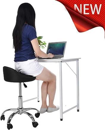 $75 » NIHAI Multifunction Home Office Chair, Adjustable Ergonomic Computer Desk Barstools, Hydraulic Salon Chair Lifting Stool Beauty Stool, Comfort Cushion