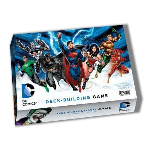 43eae70c5ab0f Amazon.com  Cryptozoic Entertainment DC Deck-Building Game  Cards  Toys    Games