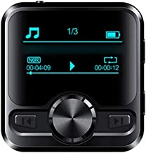 $76 » GMZS Bluetooth Lossless MP3 Music Player Built-in 8GB 16GB HiFi Portable Audio Walkman with FM Radio EBook IPX6 Waterproof...