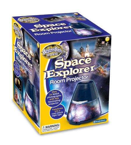 Brainstorm Toys E2005 - Proyector con imágenes espaciales de la NASA