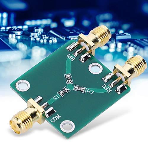 Jeanoko Divisor coaxial de 2 vías SMA-K DC-5GHz Divisor de Potencia de 2 vías RF Divisor de Potencia de Resistencia Divisor de Potencia RF Divisor de Potencia de señal Divisor de Potencia de