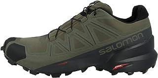 SALOMON Shoes Speedcross, Chaussures de Running Compétition Homme, Multicolore (Feuille de Vigne/Noir/FANTÔME), 41 1/3 EU