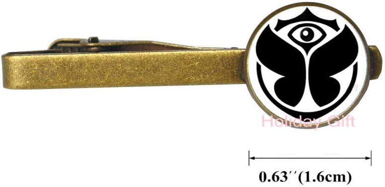 Music Festival Logo Spread Your Love to The World Peace Glass Cabochon Tie Pin&Tie Clip.HTY-207