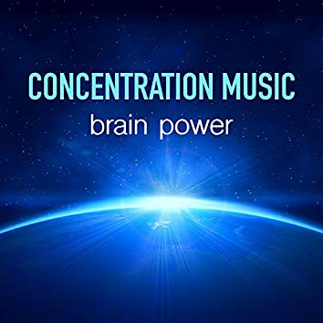 Concentration Music - Brain Power Music, Piano Music, Flute & Sea Waves with Nature Sounds for Relaxation, Autogenic Training, Concentration & Exams Study