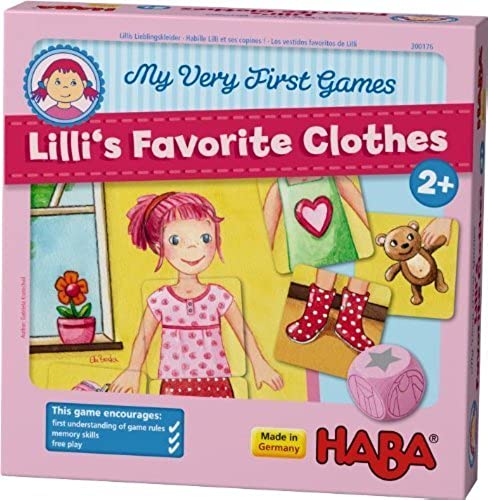 Haba My Very First Games - Lilli's Favorite Clothes by HABA