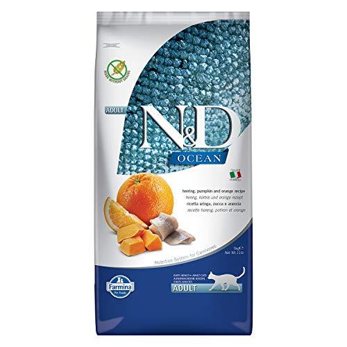 Farmina N&D Ocean Feline Aringa Zucca e Arancia 5 kg
