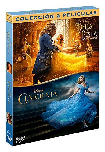 Pack: Cenicienta (Imagen Real) + La Bella Y La Bestia (Beauty & The Beast) [DVD]