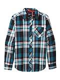 Marmot Anderson Lightweight Flannel Camicia da Esterni A Maniche Lunghe, Camicia da Trekking, con Protezione UV, Traspirante, Uomo, Black, S