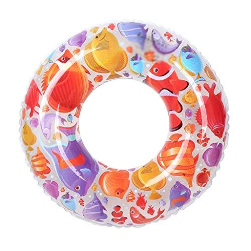 Gcxzb Schwimmreifen Pool Aufblasbarer Ring Schwimmen Ring Sommer Mode Strand Schwimmen Ring Erwachsene Jungen Mädchen Baby Schwimmen Ring Float (Size : 90)