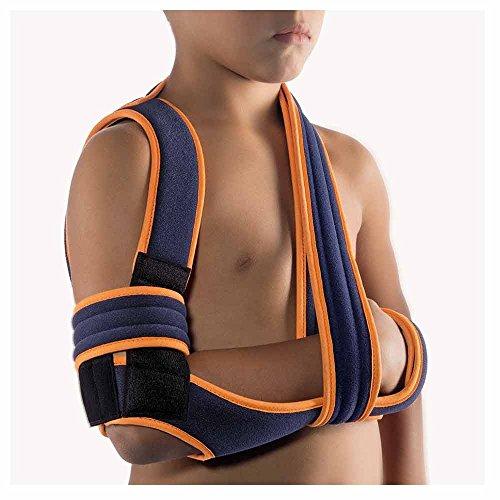 BORT Schulter-Arm-Bandage OmoBasic® nach Gilchrist, Kinder, blau