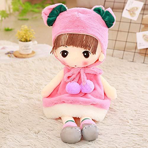 YZHCMKA-N Sombrero Faye Soft Girl Plush Toy Boy Snow Meng Princess Cloth Doll Child Sleeping Doll-90Cm_02