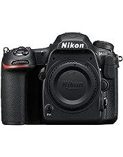 Nikon D500 - Cámara digital (20.9 MP, montura F, 10 fps, 4K), color negro