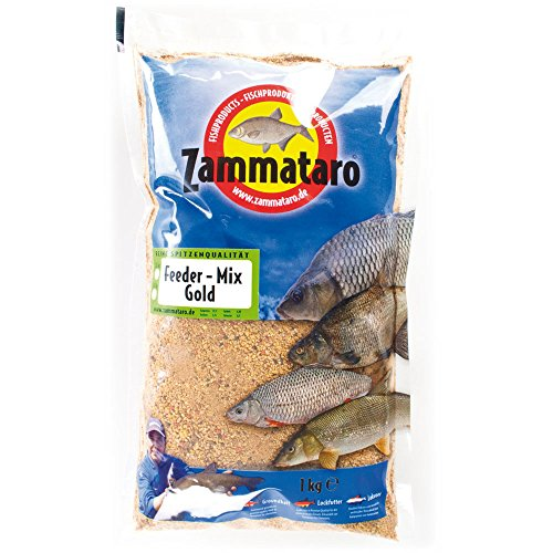 Zammataro Fertigfutter Feeder Mix Gold 1kg