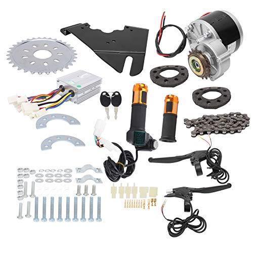 Alomejor Kit de Controlador de Motor de Bicicleta de 36V 250W Kit de Controlador de Cepillo de Motor de conversión de Bicicleta electromóvil para Bicicleta de 22‑28 Pulgadas